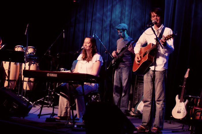 Daniel & Catherine Lovett, Reflect Worship band photo